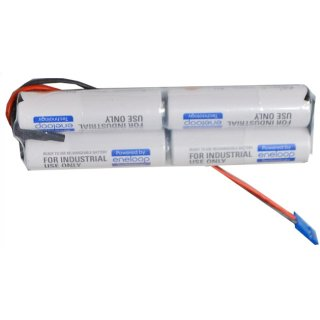 Akkupack für Graupner ENELOOP4/AA-INL 4,8V / 2000mAh - L2x2