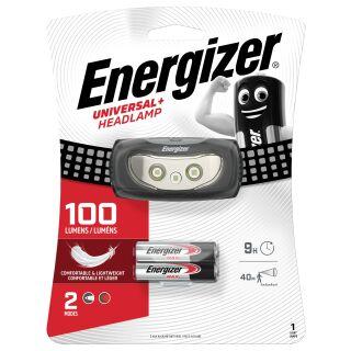 Energizer  Universal+ Headlight 3LED inkl. 3 AAA 100LM