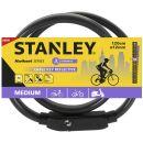 Stanley Kwikset Cable Key reflective Fahrradschloss S741-161