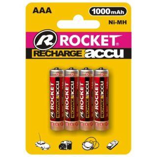 Rocket Digital Akku R03-AAA-Micro 1000 mAh - 4er Blister