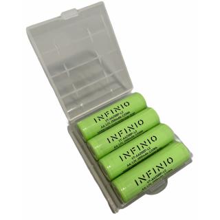 Infinio Pro Series NiMH AA 1,2V 2100 mAh LSD FLATTOP - 4er Box