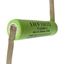 Infinio Pro Series NiMH AA 1,2V 2100 mAh LSD FLATTOP mit Z-Fahne