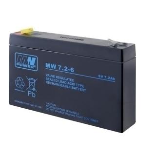 MW Power Bleiakku 7.2-6 [6V 7Ah] 151x34x100 7,2 zyklenfest