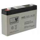 MW Power Bleiakku MP7-6 [6V 7Ah] MWS7.2-6 Standby 151x34x100