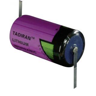Tadiran SL- 2780 ER-D Lithium-Thionyl  3,6V - mit Z-Fahne
