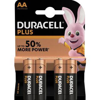 Duracell 4er Pack Plus AA / Mignon Alkaline
