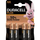 Duracell 4er Pack Plus AA / Mignon Alkaline