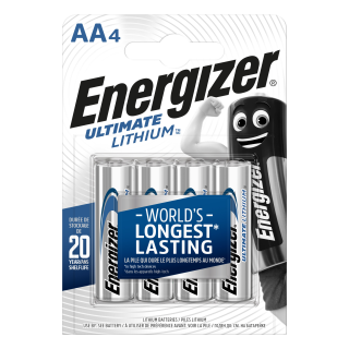Energizer 4er Pack Ultimate Lithium AA / Mignon Batterien