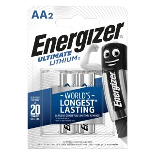 Energizer 2er Pack Ultimate Lithium AA / Mignon