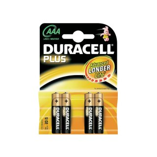 Duracell 4er Pack Plus AAA / Micro