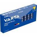 Varta 10er Pack Industrial Alkaline AAA Micro Batterien
