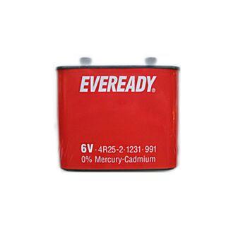 Eveready Blockbatterie 4R25 6V - 2 Porto 22Ah