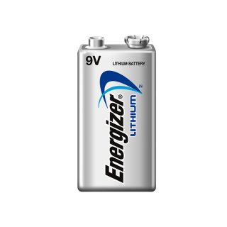 Energizer 1er Pack Ultimate Lithium 9V / Block Batterie