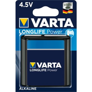 Varta Longlife Power Alkaline 4912-3LR12