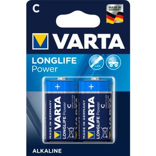 Varta Longlife Power Alkaline 4914-LR14-C-Baby - 2er Blister