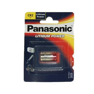 Panasonic Photo Power CR2 Lithium Batterie 3V Fotobatterie