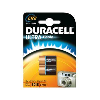 Duracell 2er Pack Ultra Lithium Foto CR2 / CR17355