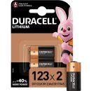 Duracell 2er Pack Ultra Lithium Foto CR123 / CR17345