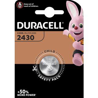 Duracell 1er Blister Lithium CR 2430 3V