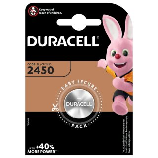 Duracell Lithium Knopfzelle CR 2450 3V