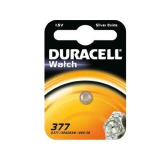 Duracell Silberoxid Uhrenbatterie 377 - SR626