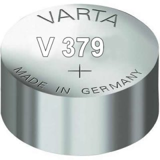 Varta 100er lose Silberoxid Uhrenbatterie 379 - SR521