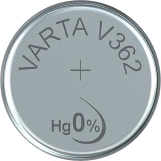 Varta 10er Pack Silberoxid Uhrenbatterie 362 - 361