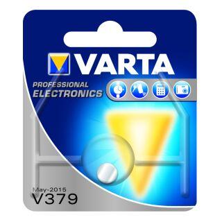 Varta 10er Pack Silberoxid Uhrenbatterie 379