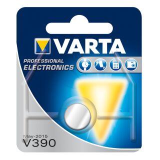Varta 10er Pack Silberoxid Uhrenbatterie 389/390-SR1130-SR54