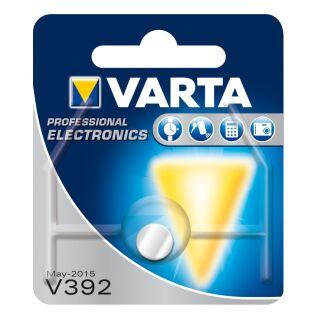 Varta 10er Pack Silberoxid Uhrenbatterie 392 - 384-SR41-SR736W