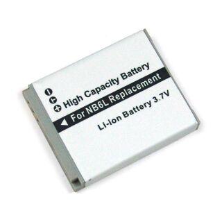 Akku kompatibel zu NB-6L Canon Li-Ion