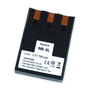 Akku kompatibe zu Canon NB 3 L 3,7V 790 mAh