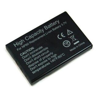 Akku kompatibe zu NP-60 Fuji Li-Ion
