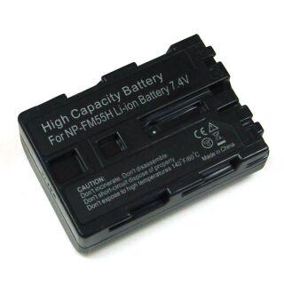 Akku kompatibel zu NP-FM55H/NP-QM51 Sony Li-Ion