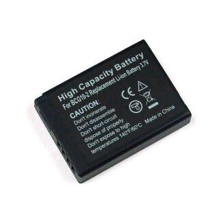 Akku kompatibel zu DMW-BCE10E/CGA-S008 Panasonic / DB-70/DB-65 Ricoh Li-Ion