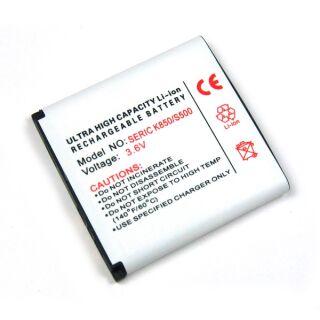 Akku kompatibel zu Sony Ericsson BST-38 Li-Ion