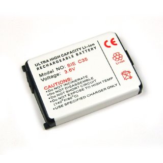 Akku kompatibel zu Siemens C35i / M35i / S35i Li-Ion