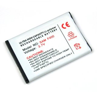 Akku kompatibel zu Samsung SGH-F400 / SGH-L700 / SGH-ZV60 Li-Polymer