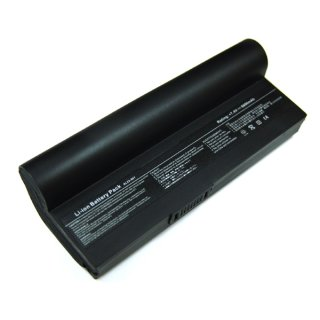 Akku kompatibel zu Asus Eee PC 901 6600 mAh Li-Ion schwarz