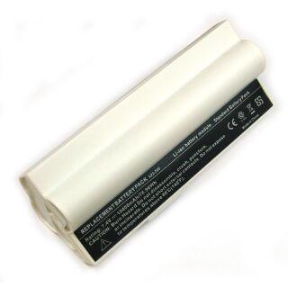 Akku kompatibel zu Asus Eee PC A70110400 mAh Li-Ion weiß