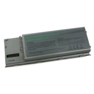 Akku kompatibel zu Dell Latitude D620 Li-Ion metallic grau