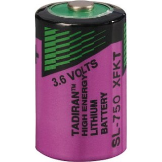 Tadiran SL750/S ER 1/2 AA Inorganic Lithium 3,6V
