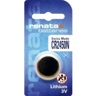 Renata CR 2450 Lithium Knopfzelle N 3V