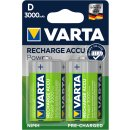 VARTA Power Accu 2er Pack Mono / D Akkus 3000 mAh Ready2Use