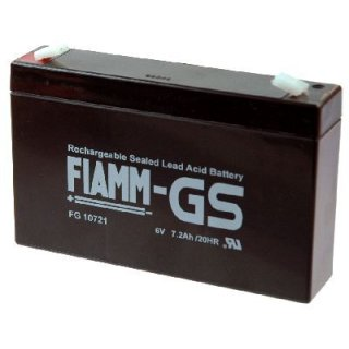 FIAMM FG10721 Blei Gel 6V 7,2 Ah Bleiakku