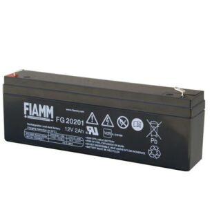 FIAMM FG20201 Blei Gel 12V 2,0 Ah Bleiakku
