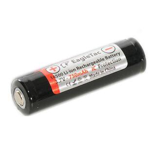 Eagtac Rechargeable 14500 Akku 3,7V Li-Ion 750 mAh