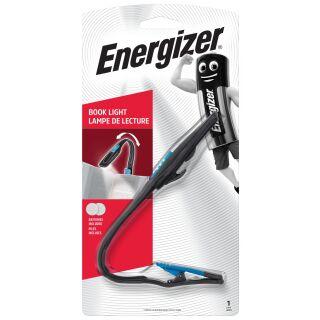 Energizer READERLITE Leseleuchte / Klemmleuchte / Stilleuchte für Bücher E-Book Reader Kindle inkl. 6x Panasonic CR2032 Ersatzbatterien
