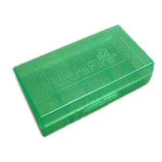 4x UFI Batterie oder Akku Aufbewahrungsbox für 18650 / 17500 / 17650 / 123