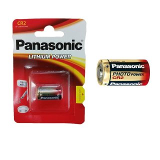 5er Set Panasonic Photo Power CR2 CR 2 Lithium Batterie 3V Fotobatterie